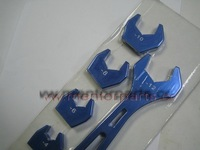 Speedway Alloy An spanner with inserts wrench( include 3,4,6,8,10,12),BLUE, MPF683-0312