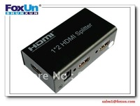 2 Port HDMI Splitter (Support3D China&Free Shipping&100% Quality Assurance)