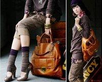 Best selling Kvoll Tan women's shoulder tote bag handbag purse 1007