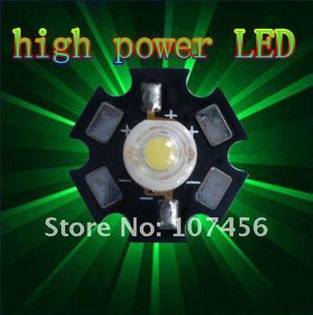 Free shipping 10pcs 3W 3watt Green High Power 3W LED Lamp Light Bright