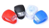 High Quality 2 LED Front Bicycle Light Waterproof Bike Safety Light 20pcs\lot