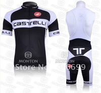 Ciclismo Maillot+culotte con tirantes 2011 CASTELLI Size:S M L XL XXL XXXL