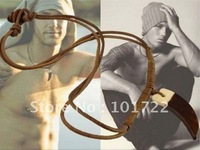 FREE SHIPMENT.leather necklace,mens jewelry,fast delivery time with high quality.