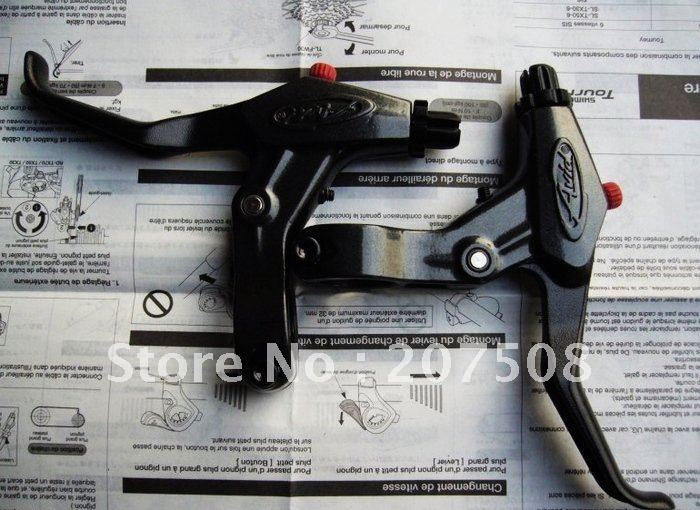 NEW SRAM AVID FR7 BIKE BICYCLE FR-7 BRAKE CRANK LEVERS FR7 FOR MTB BIKE Black(China (Mainland))
