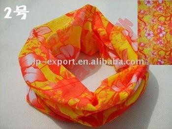 100pcs Mixedlot popular design outdoor multifunctional bandana magic stuff