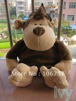 """Lovely NICI Brown Monkeys Backpack Children Gift 16""""new"""