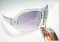 Free shipping 10pcs/lot Mix color Lady Women Fashion UV Protect Sun Sunglasses GL01*