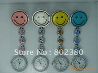 Free shipping,50pcs/lot,New design lovely nurse watch,nurse pin watch, nurse fob watch