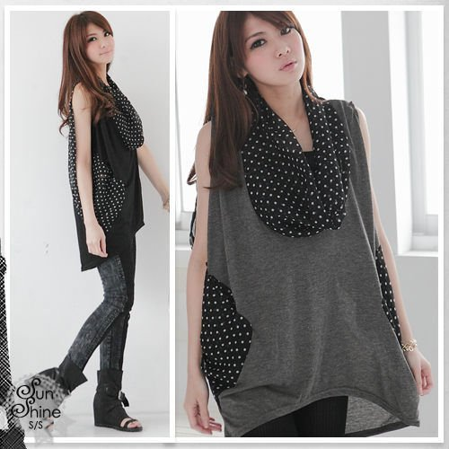 Free shipping 2pcs/lot New women's temperament loose snow to leisure female dress(China (Mainland))