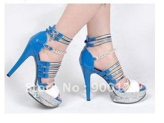shoe Free Shipping! fashion style high heeled shoe S296(China (Mainland))