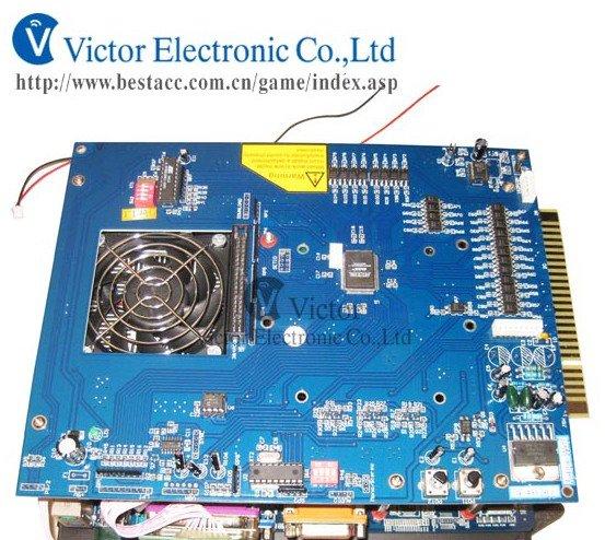 2 pcs of 2100 In 1 VGA Game Board With 40G Hard drive,Intel G31 Motherboard, Celeron Daul-Core CPU,1G DDR II memory(China (Mainland))