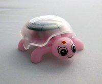 Free Shipping! 16pcs/lot  Solar mini Tortoise,the unique crawling solar toy,, 100% green power