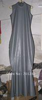 latex women costume dress