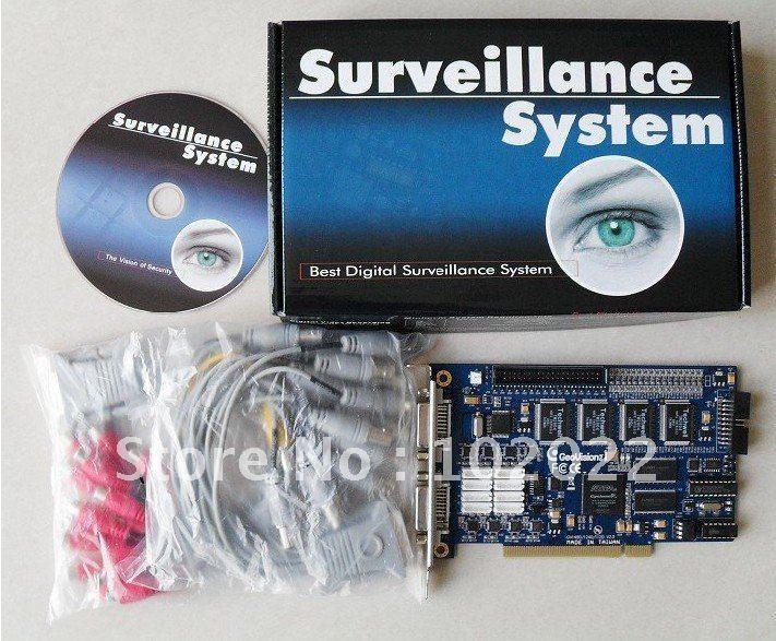 Hot GV DVR card GV-1480 PCI Card real time CCTV dvr card/Video Capture Card DVR Board(China (Mainland))