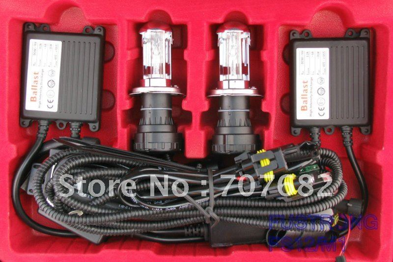 Auto H4 Bi Xenon/H4-3 kit 12v 55w(China (Mainland))