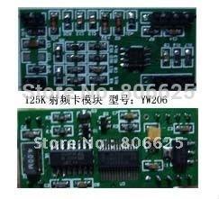 125K RFID module/ LF rfid module/RFID reader +1 Antenna+3 tags/YW206