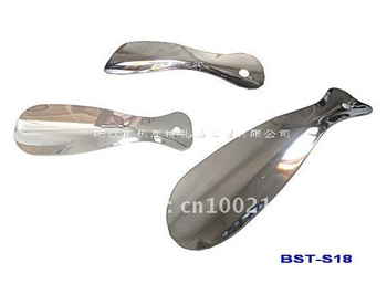 Practical high-grade stainless steel metal shoehorn - factory direct!