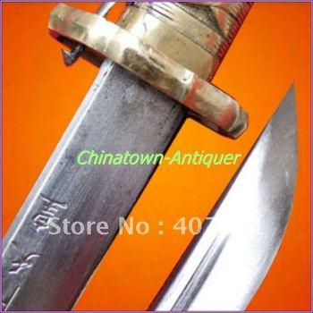 Japanese Samurai Sword Military Katana 95 Type Saber#78