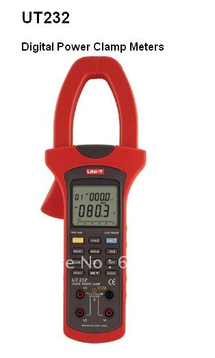new 100% sales promotion 5pcs/lot Clamp Meters/Digital Power Clamp Meters/UT232 Digital Power Clamp Meters(China (Mainland))