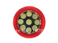 Free Shipping,14 led flashlight bulbs,10pcs/lot rubber sheath,best flashlight,more colors, led torch,flashlight app