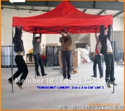 Heavy duty 10'x10' EZ pop up gazebo/tent/canopy/party wedding tent/promotion tent(China (Mainland))