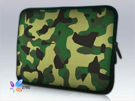 Cool Camouflage LaptopBag ,Case for Laptop ,Cover for IBM Lap top ,Pouch For 17 Computer(China (Mainland))