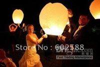 100%biodegradable sky lanterns flying paper BIRTHDAY WEDDING PARTY Supplies wish lanterns