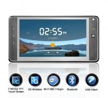 Huawei Ideos S7 - 7 Inch 3G Android 2.2 OS Capacitive Touchscreen Tablet PC (1GHz) with WiFi, Free Shipping