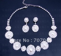 Free shipping wholesale Elegant Rehinstone Wedding bridal / Party Jewelry sets J101