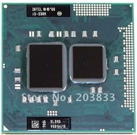 Laptop CPU Intel Core i3 cpu mobile I3-330M SLBMD for HM55 PM55