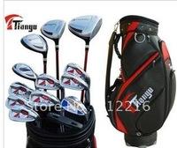 Free shipping Men's Sky authentic golf clubs golf sets golf beginner pole sleeve men's pole rod set