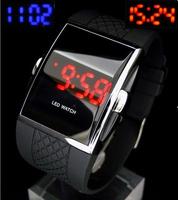 Freeshipping Fashion Crystal Silicone quartz wrist Watch,Ladies Lady girl Women's Silicone Jelly watch