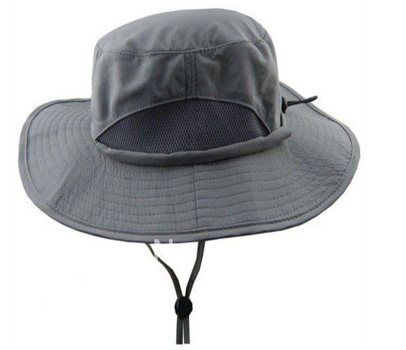 High Quality Outdoor Sports Jungle Hat Topi Hat Leisure Hat 2pcs(China (Mainland))