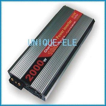 2000W Car Power Inverter 12V/24V DC to 220V AC +Charger