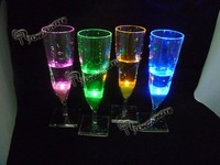 wine glass,LED wine glass,touch control led wine glass,10 pcs/lot,free shipping