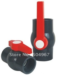 "retailer and wholesale 1+1/4"" pvc ball valves with good quality and good price(China (Mainland))"