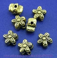 free shipping 185 pcs/lot,wholesale beads,alloy beads,antique gold beads,spacer beads jewelry accessories for you