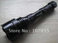 High bright led torch,1200 Lumens, 3xQ5 cree LED flashlight ,5model, rechargeable led flashlight (2*18650)