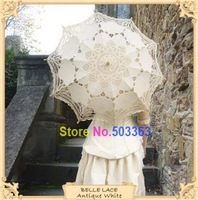 HOT Sale Bridal Accessories Wedding Umbrellas  Lace Parasol Umbrella free shipping