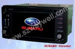 SUBARU FORESTER Car Radio GPS Navigation Bluetooth Radio IPOD Touch Screen Video Audio Player(China (Mainland))