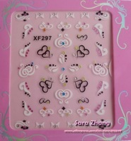 New 48 different korea styles available Nail Art sticker  / Nail Art /3D nail sticker/100sheets/lot