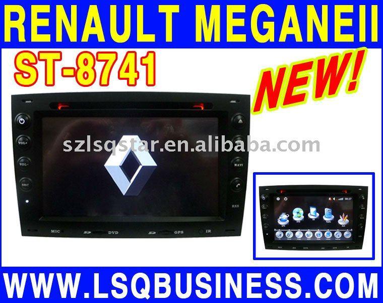 Renault Megane 2 Dvd Spieler Mit Gps Bluetooth Ipod Usb Tv Radio