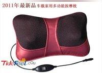 Free shipping,Multi-purpose car massage pillow,Neck massage pad, infrared heat Sunburn,lumbar cervical massage home and car use