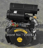 NEW 27hp air cooled v twin engine +horizontal shaft+FREE SHIPPING+100% Positive Feedback+3years Guranteed