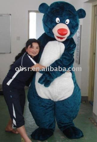 Custom Goofy Plush North Africa Bear Mascot Costume in Apparel(Hong Kong)
