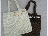 FREESHIPPING!!! WHOLESALE PRETTY LADY LIGHT PAPER  STRAW BAG
