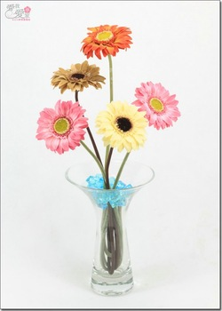 High quality 46*8.5cm sunflower silk flowers wedding flowers crafts chinoiserie African chrysanthemum artificial flowers gifts