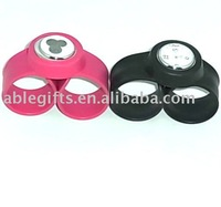 2011 luxury silicone rubber watch