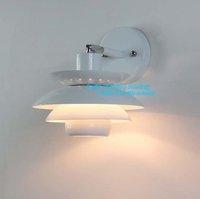 Free shipping Hot Selling  Modern abajur  Creative Damark  PH-3 Wall Lamp Sconce banheiro Wall Lights Fixture