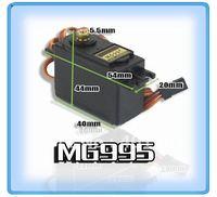 free shipping 4set/lot MG995 MG-995 Hi-Speed & Torque Metal Gear RC Servo